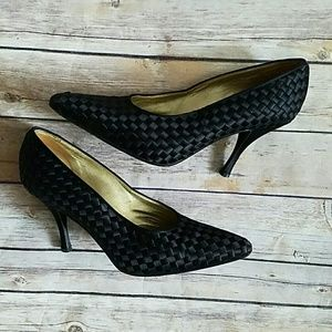 Bottega Veneta Shoes - Bottega Veneta Woven Fabric Pumps SZ 9.5