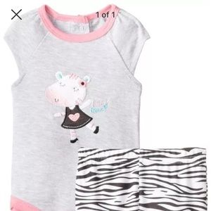 Bon Bebe Other - Bon BeBe Little Dancer Bodysuit and Leggings