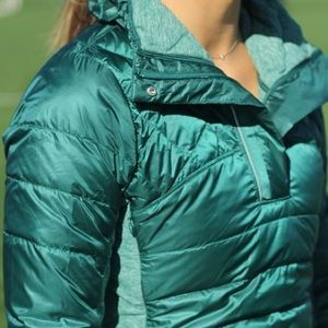 Lululemon Down For A Run Pullover Jacket Size 4