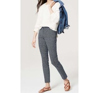 💕SALE💕Loft Tulip Skinny ankle Marisa fit pants