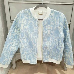 Whitney Eve Jackets & Blazers - Whitney Eve Amazon Lily Lace bomber Jacket
