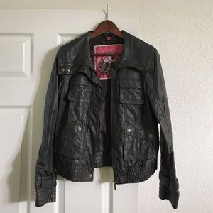 Collection B Jackets & Blazers - Collection B moto jacket