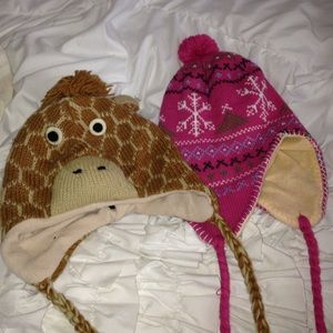 Other - Fun winter hats