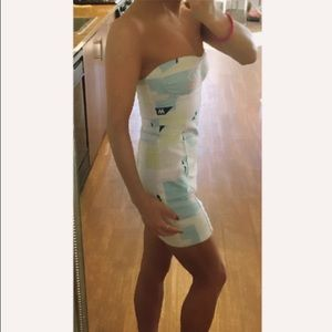 Topshop PETITE Dresses & Skirts - NWT Top Shop strapless retro dress