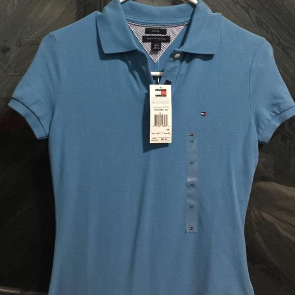 22354d28 Tommy Hilfiger Tops | Brand New Womens Polo Shirt | Poshmark