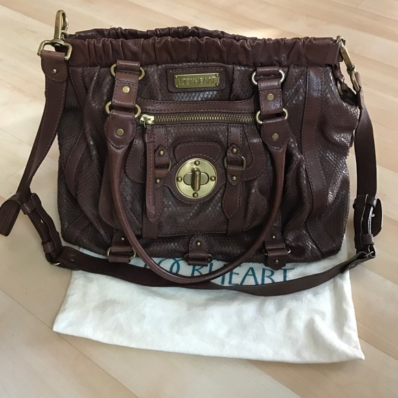 Lockheart Handbags - Dark brown Lockhart leather handbag 7b8fae07e5b4b