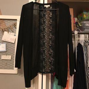 Sweaters - •Black cardigan•