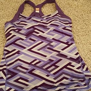 Lucy Womens Workout Top Large