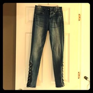 Size 26 Bebe high waist skinny jeans