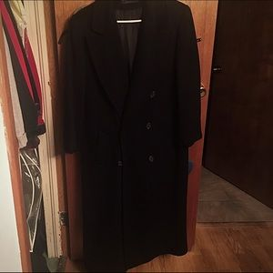 Vintage Long Black Coat