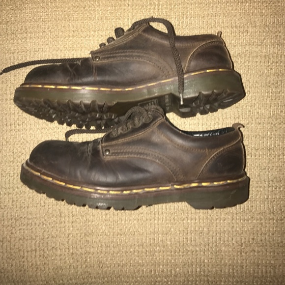 94bd3d7b18b71 Dr. Martens Shoes - Vintage Dr. Martens brown shoe
