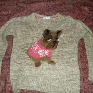 Weekend Society Sweaters - Doggy acrylic sweater