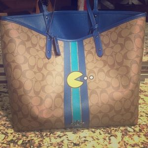 Limited Edition Pacman Coach reversible tote