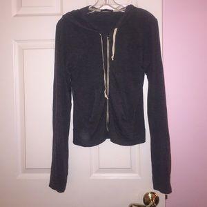 Brandy Melville Jackets & Blazers - Brandy Melville Gray Jacket
