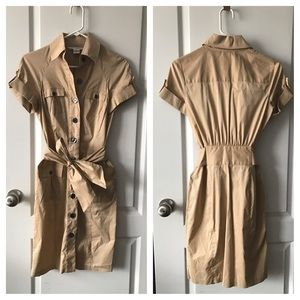 Diane von Furstenberg Dresses & Skirts - Diane Von furstenberg • Kahki Trench Dress