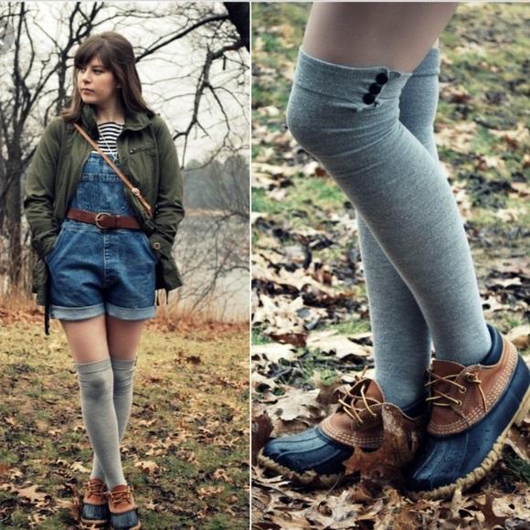 35154fb66b8 L.l. Bean duck boots short gum shoes 6 women's