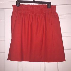 J.Crew holiday skirt. Wool.