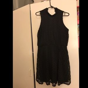 Black lace dress. Like new