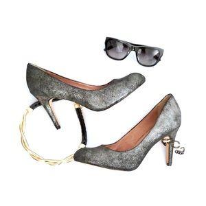 Corso Como Shoes - Corso Como Metallic Heels