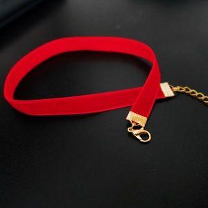 Jewelry - Red Velvet Choker