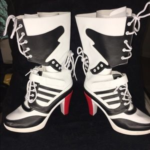Jeremy Scott x Adidas Shoes - Harley Quinn shoes