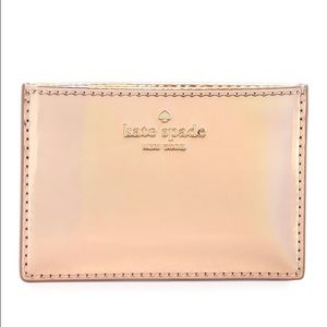 kate spade Handbags - Kate Spade Rainer Lane Rose Gold Card Holder BOXED