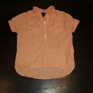J. Crew Tops - J crew Baird McNutt Irish Linen shirt NWT