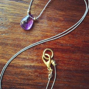 Jewelry - Amethyst necklace. ⚜️Host pick 💋