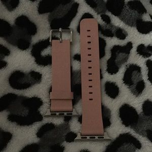 Accessories - Brand new never used Apple Watch 38MM Pink leather