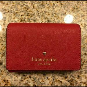 kate spade Handbags - NWT Dark Red Kate Spade Christine Wallet