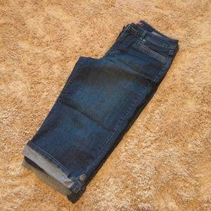 Gloria Vanderbilt Denim - Denim Capri's/Long Walking Shorts
