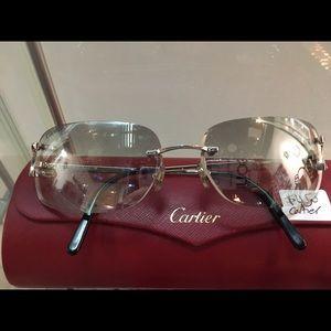 8235e0984dd Cartier Accessories - Cartier aviator glasses like new excellent