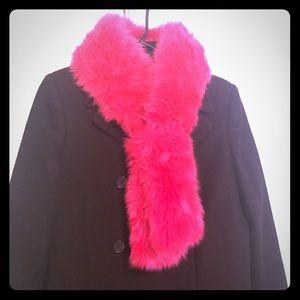 Kate Spade furry scarf