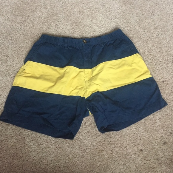 0d7c23947a Chubbies Other - Chubbies short shorts size L yellow stripe