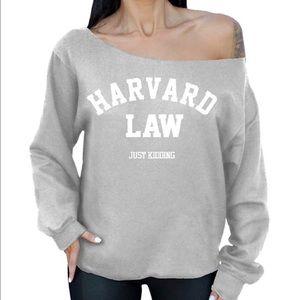 Off the shoulder sweatshirt BUNDLE PRICE $20