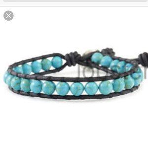 Chan Luu Signature Turquoise Wrap Bracelet