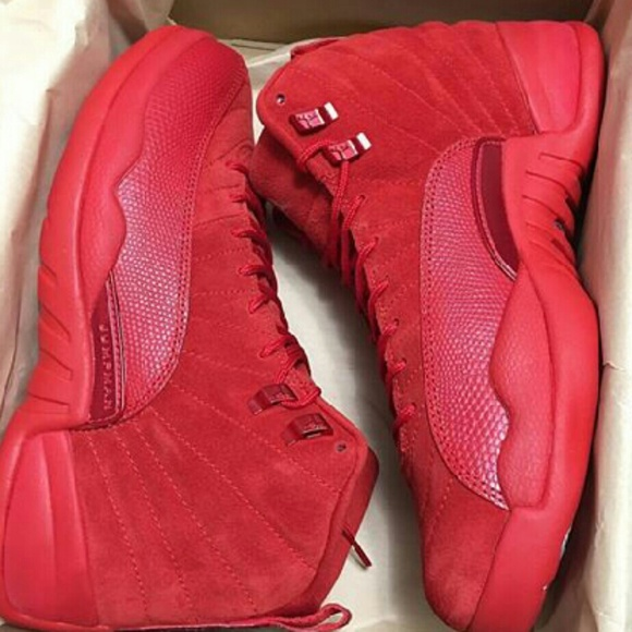 separation shoes 637fe 79ff1 Air jordans All red 12s