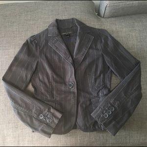 Marc by Marc Jacobs denim striped blazer/jacket