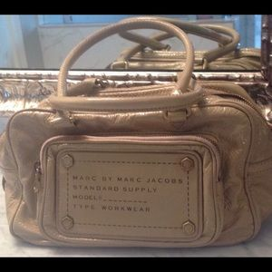 Marc by Marc Jacobs patent leather bag.