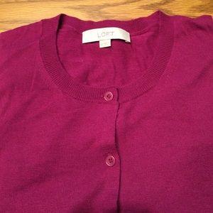 Ann Taylor LOFT long sleeve cardigan XL