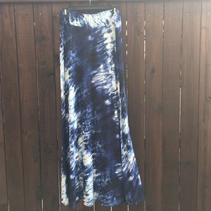 Dresses & Skirts - Tyedye long skirt size XL