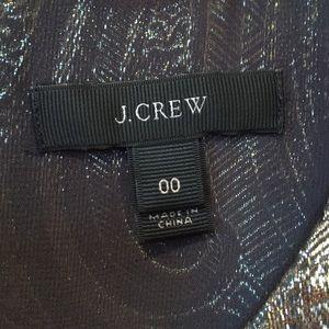 J. Crew Tops - J. Crew metallic paisley tank