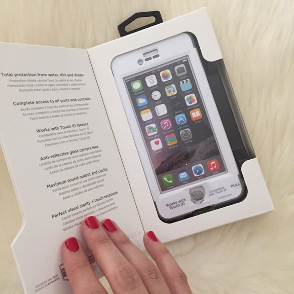 LifeProof Accessories - White Lifeproof Nuud for iPhone 6/6s