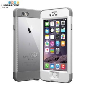 White Lifeproof Nuud for iPhone 6/6s