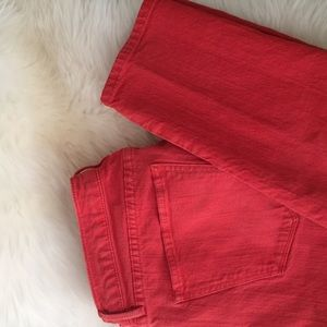 Madewell Jeans - Madewell Coral Skinny Jeans | Skinny Skinny
