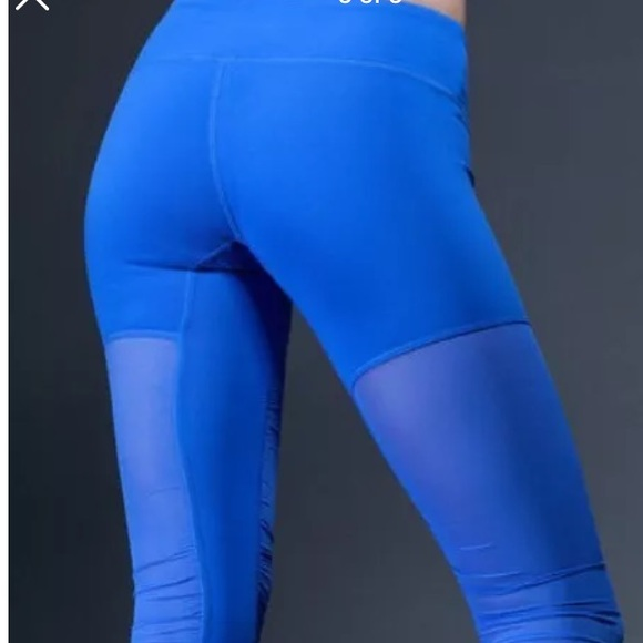 37% off ALO Yoga Pants - Alo goddess leggings NWT bright blue yoga ...