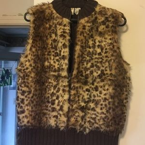 Tiara Jackets & Blazers - ***LOWEST PRICE***Faux fur vest