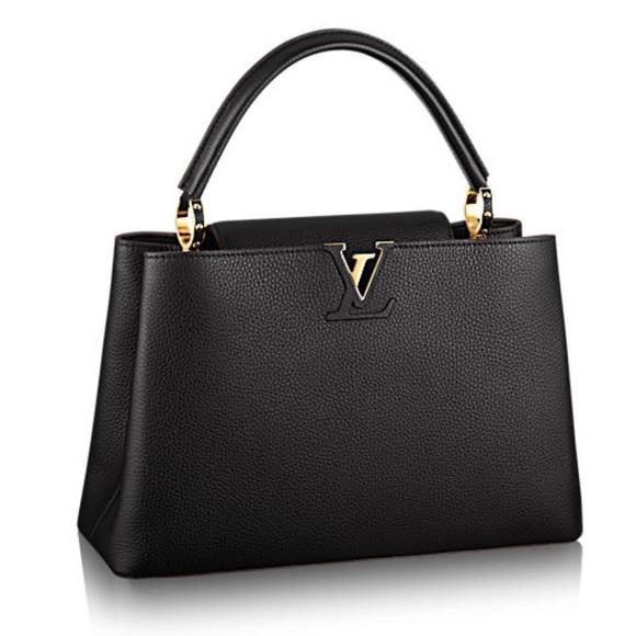 Used Louis Vuitton Capucines MM