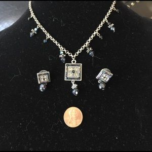 Jewelry - Beautiful Lady Remington necklace and earrings!