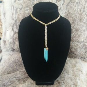 Jessica Elliot Jewelry - Skinny B Jessica Elliot lariat statement necklace